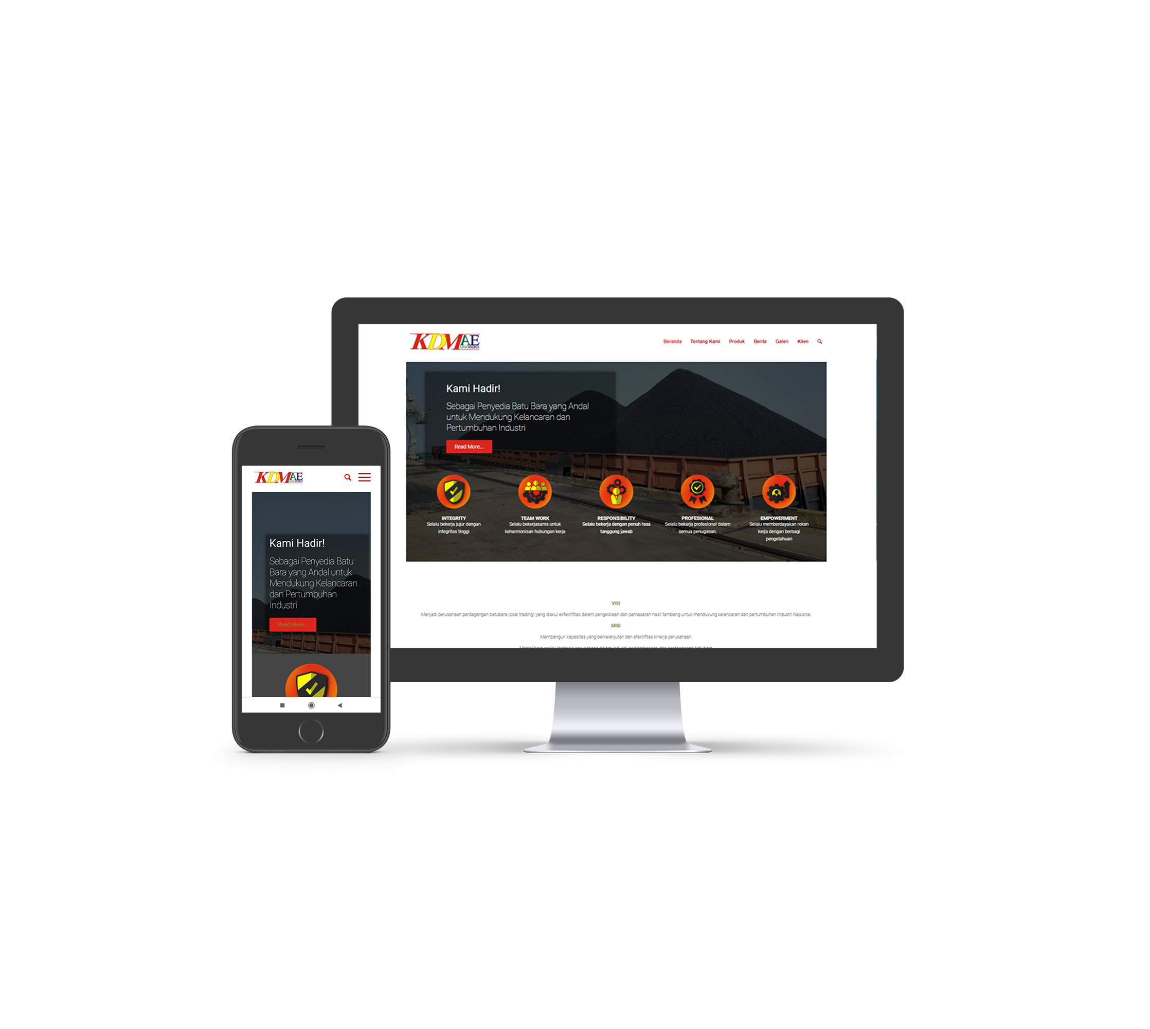 jasa pembuatan Website KDMAE