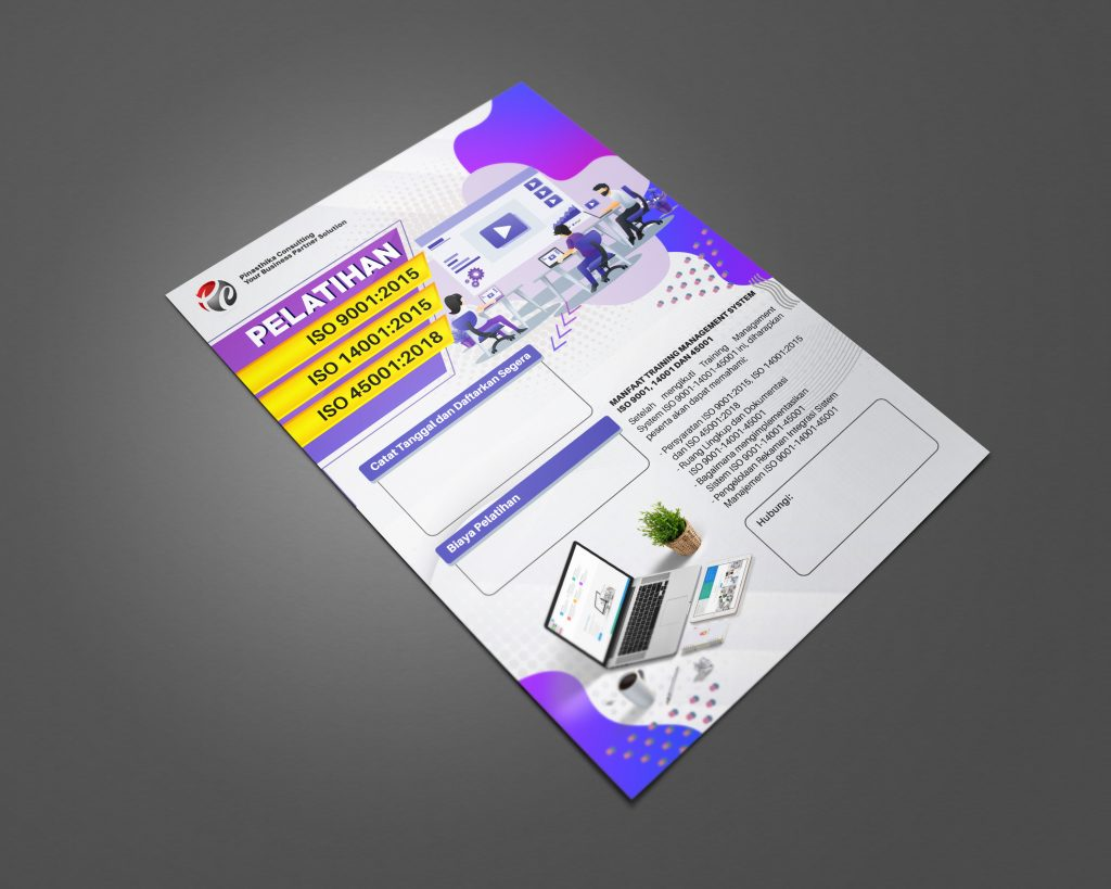 Desain Flyer Pelatihan